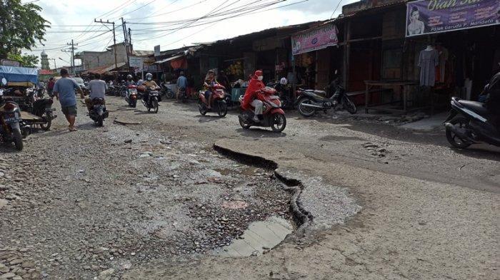 Jalan Rusak Ditargetkan Selesai Dua Tahun, Dinas PU Medan Minta Bantuan Pemprovsu dan Kementrian