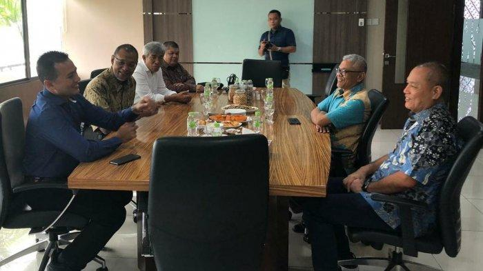 Bank Sumut dan Koni Sumut Silahturahmi dengan CEO Kompas Gramedia
