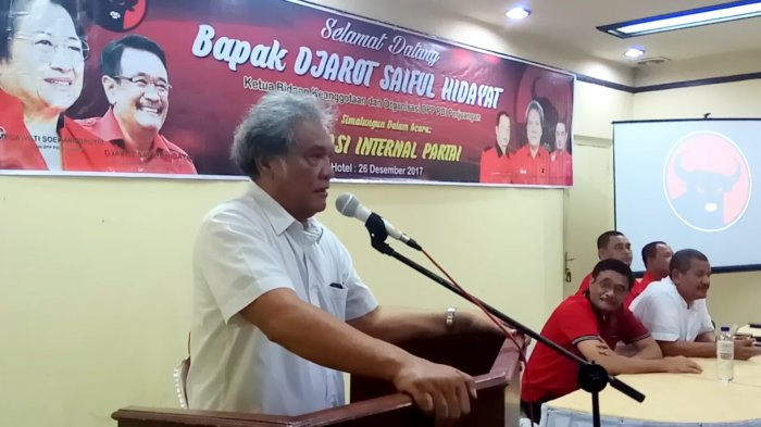 Kader Siap Dukung Djarot Bila Diusung PDI-P ke Pilgub Sumut, Japorman Bilang Begini soal Koalisi