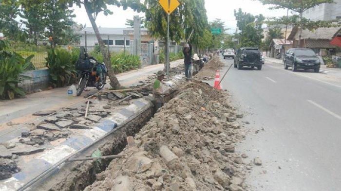 Ruas Jalan di Lubukpakam Dibongkar, PDAM Tirta Deli Pastikan Air Mengalir 24 Jam