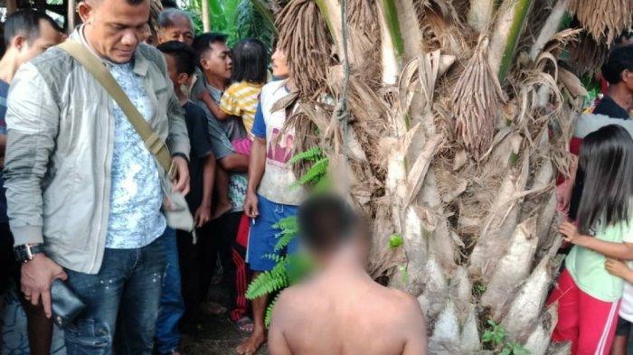 KRONOLOGIS Penemuan Dua Mayat di Hinai Langkat, di Dalam Sumur dan Tergantung di Pohon Sawit
