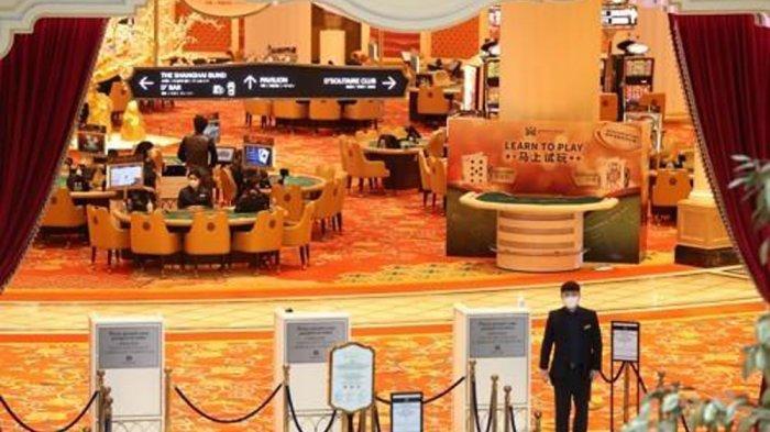 Pinta masuk ke kasino Jeju Shinhwa World