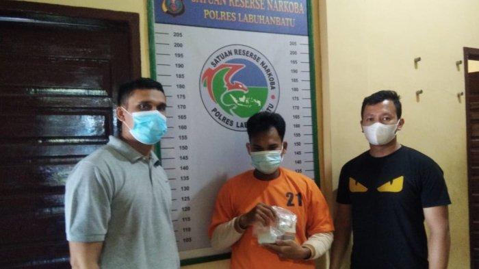 Jekson Sinaga Ditangkap saat Jualan Mi Sop, Ternyata Juga Pengedar Sabu-sabu