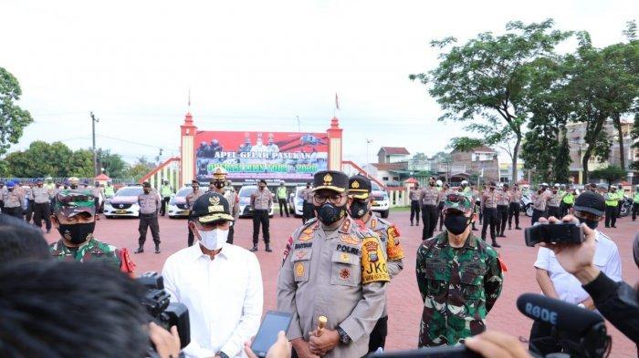 Belasan Ribu Personel Gabungan TNI/Polri diturunkan Amankan Pergantian Tahun Baru