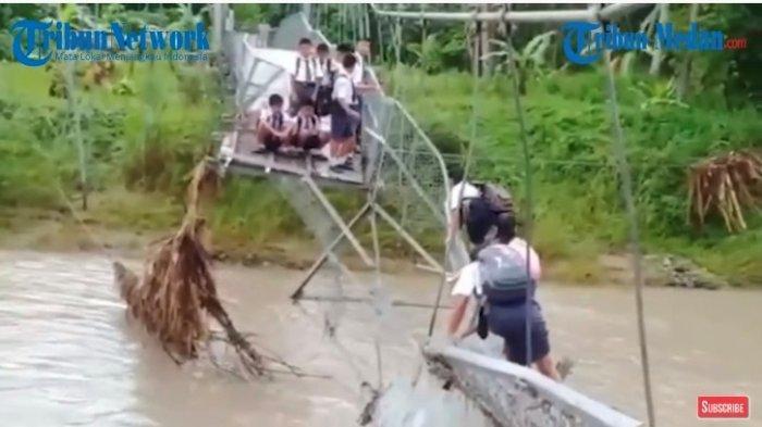 Viral Jembatan Rusak di Nias Utara, Gubernur Edy Bilang Perbaikannya Tahun Depan