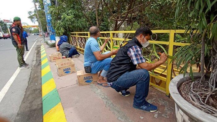 Jembatan Kebajikan yang Jadi Ajang Corat-coret Kini Dicat Ulang, Ketua P3KS: Ini Situs Sejarah