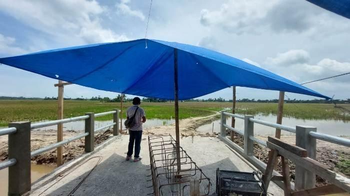 Jembatan Penghubung Desa Pon dan Desa Sei Bamban Dinilai Kurang Tepat Sasaran