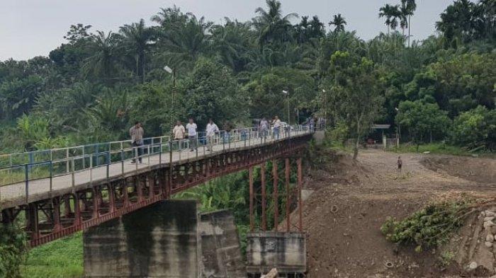 Jembatan Sungai Petani Berubah Kontruksi Akibat Galian C di Namorambe