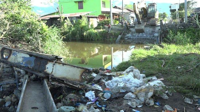 Jembatan Tanjung Pasir di Porsea Ambruk, Ini Keterangan Kepala Desa Lumban Manurung