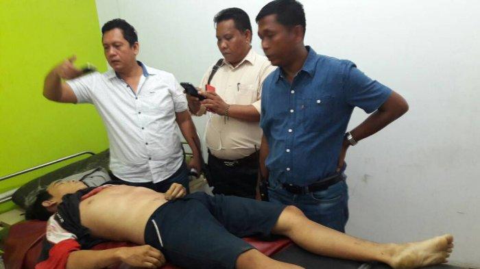 Warga Heboh Lihat Ahui Tewas Bersimbah Darah di Depan Tokonya