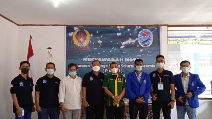 Untuk Pertama Kalinya, Persatuan Olahraga Selam Seluruh Indonesia Terbentuk di Medan