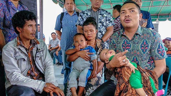Wakil Bupati Dairi Lewat Perusahaannya PT Raja Napogos Bantu Operasi 47 Penderita Bibir Sumbing