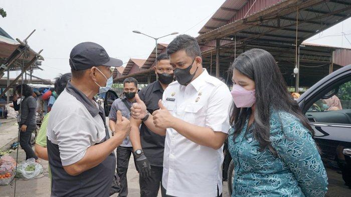 Gebrakan Pasar Bersih, Bobby Nasution: Jangan Cari Profit, Itu Kewajiban Kita