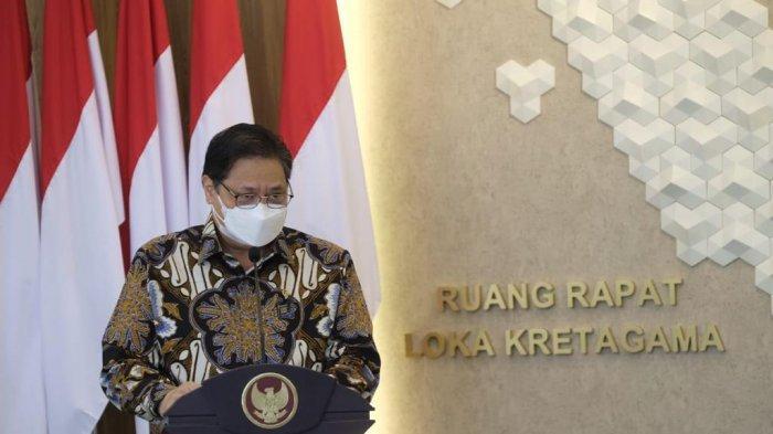 Menko Airlangga: Pemerintah Jaga Laju Ekonomi Selama PPKM Darurat