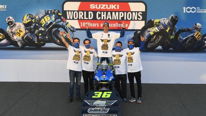 Suzuki Juara Dunia MotoGP 2020