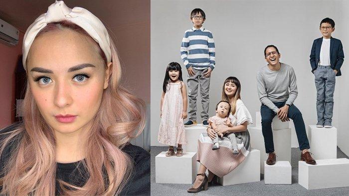Joanna Alexandra dan keluarga