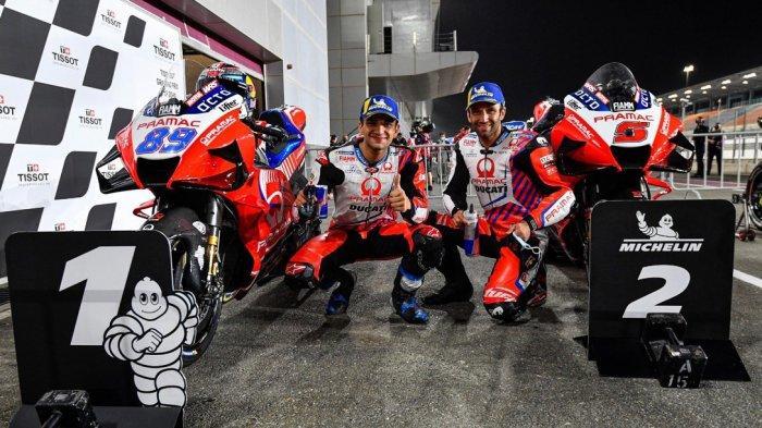 UPDATE Siaran Langsung MotoGP Doha 2021, Rahasia Jorge Martin Raih Pole Position, Live TRANS7