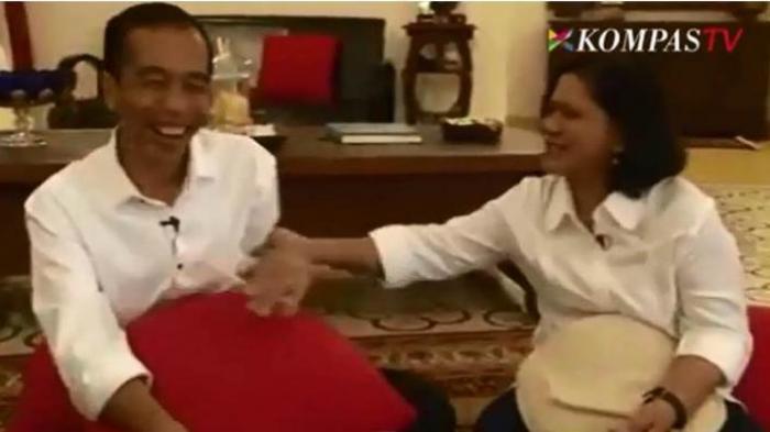 Sejak Pagi Ribuan Warga Antre Datangi Rumah Jokowi di Solo