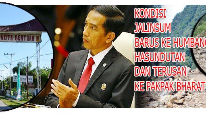 Presiden Jokowi ke Tapteng, Harap Perhatian Terhadap Jalinsum Barus-Pakkat-Parlilitan-Pakpak Bharat