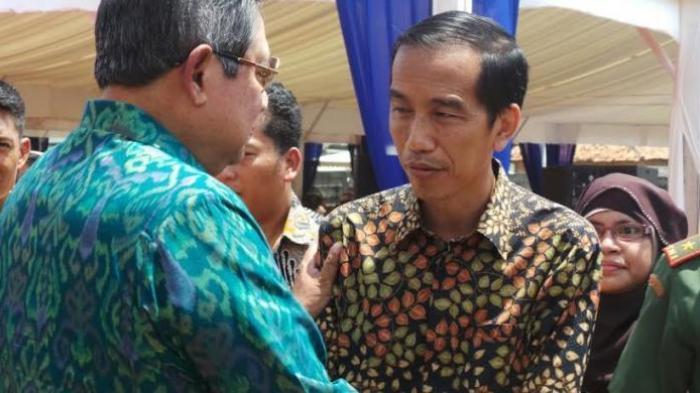 SBY Akan Bahas Pembangunan Ekonomi dengan Jokowi