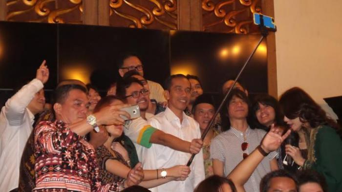 Relawan Jokowi: Kami Tidak Mau Bayaran, Cuma Minta Selfie