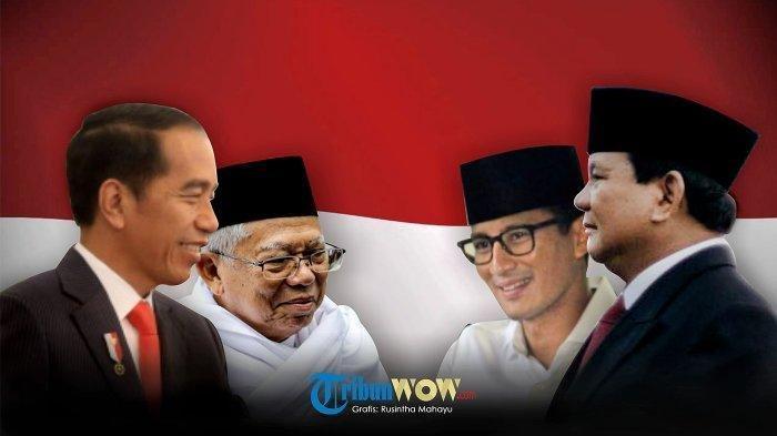 UPDATE HASIL Real Count Pilpres 2019 - Data Masuk 85 Persen, Jokowi Raih Suara 73,7 Juta Suara