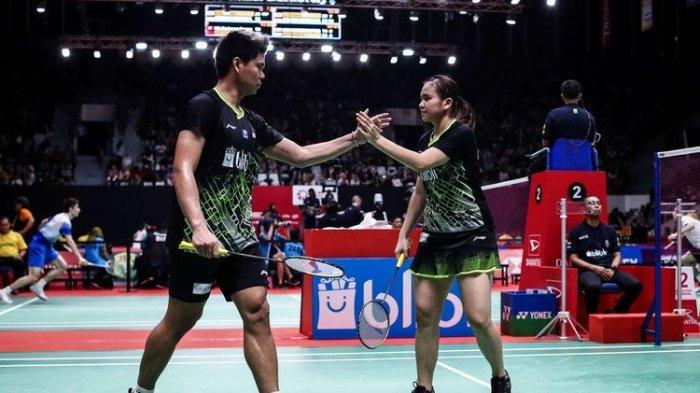 SIARAN LANGSUNG Link Live Streaming Final Thailand Open: Praveen/Melati vs Dechapol/Sapsiree