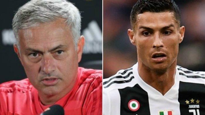 Mau Hidup Tenang Latih AS Roma, Jose Mourinho Usir Cristiano Ronaldo dari Italia