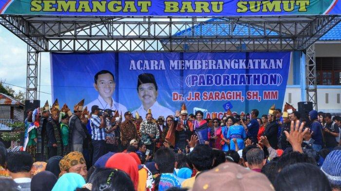 Tokoh Agama, Cendikiawan, Etnis SumutMelepas JR Saragih dan Ance menuju Pilgub 2018