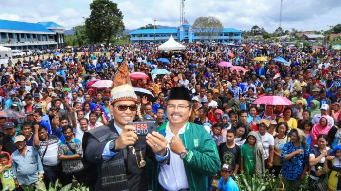 Digagalkan KPU, JR Saragih-Ance Optimistis Tetap Maju Jadi Calon Gubernur Sumut