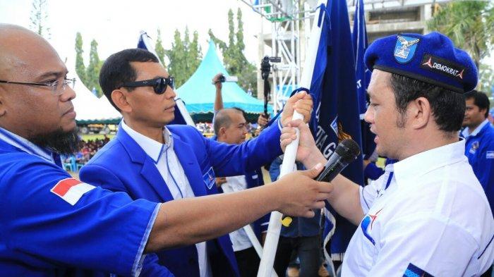 Lantik Pengurus di 4 Wilayah Nias, Jr Saragih Minta Kader Dukung Pemerintahan