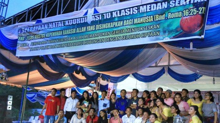 Hadiri Perayaan Natal, JR Saragih Ajak Jamaat Bersukacita Dalam Merayakannya