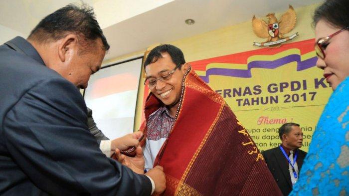 GPDI Resmi Dukung JR Saragih