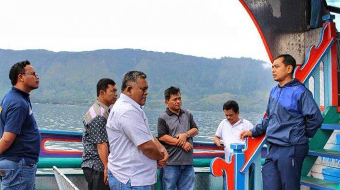 Rapat Tak Mesti di Kantor, Seperti yang Dilakukan Jr Saragih dengan para SKPD di Kapal