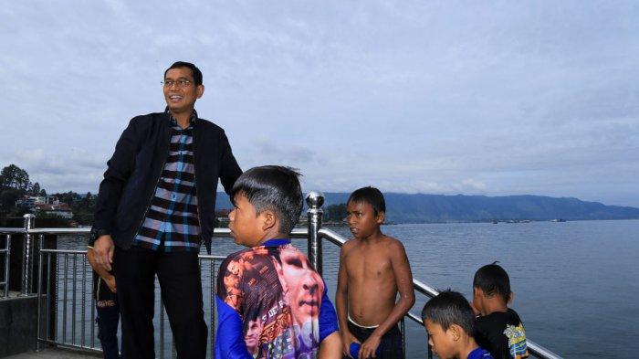 JR Rencanakan  Pemburu Koin Danau Toba Sebagai Atlet