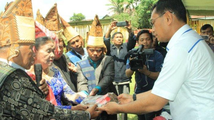 JR Resmikan Jalan Prof dr J Boas Saragih