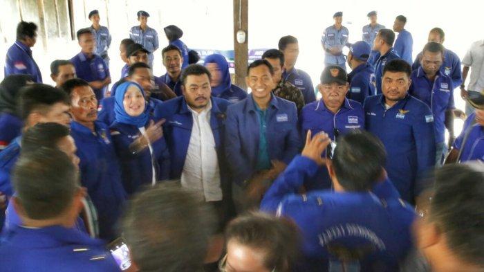 Kunjungi Langkat, JR Saragih Menyerukan Pererat Konsolidasi Ini ke Kader Demokrat