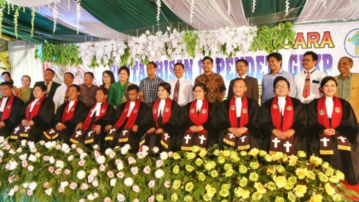 JR Saragih Punya Harapan Damai saat Penahbisan 10 Pendeta GBKP