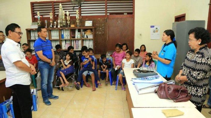 Sebelum Lantik Kader Partai Demokrat di Sibolga, JR Kunjungi Panti Rehabilitasi