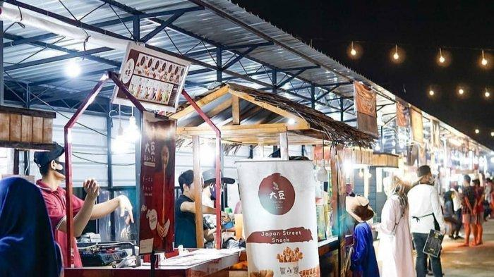 Perpanjangan PPKM Batasi Jam Operasional, Pelaku Usaha di PRR Night Market Marelan Selalu Diingatkan