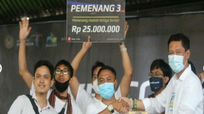 Membanggakan Sumut, Mahasiswa Unhar Medan Sabet Juara III Millionaire Race Bali 2