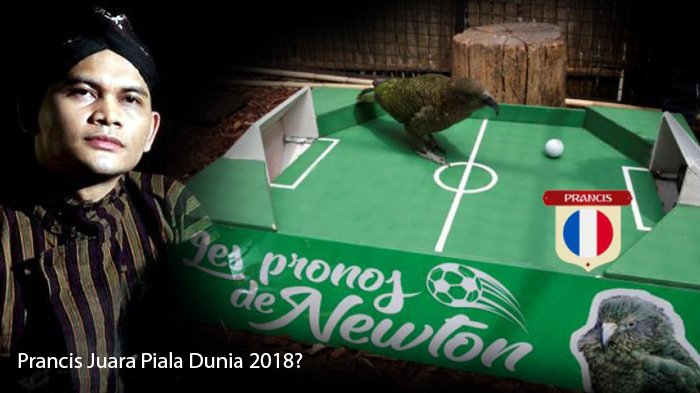 Prancis Juara Piala Dunia 2018 Menurut Ramalan Mbah Mijan, Burung Beo, hingga Gurita
