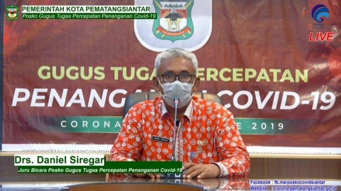 Daniel Siregar Plt Kadis PUPR Pemko Pematangsiantar, Sofyan Purba Jadi Sekretaris Satgas Covid