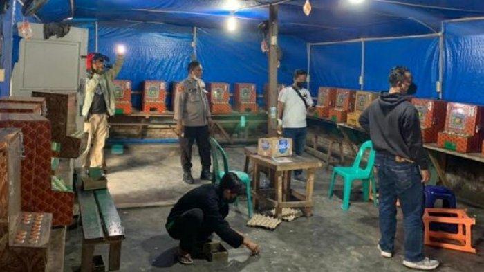 Polisi Gerebek Sarang Narkoba dan Sita Puluhan Mesin Judi Tembak Ikan di Sunggal