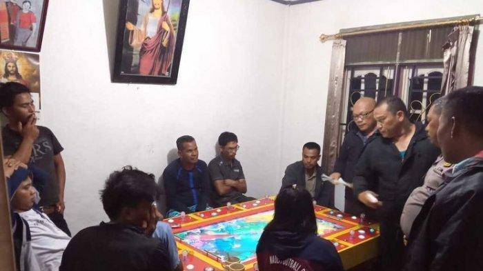 Rumahnya Jadi Tempat Judi Tembak Ikan, Oknum Polisi di Lintong Nihuta Ditangkap