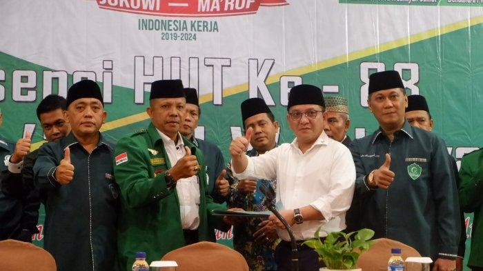 Al Washliyah Sumut Deklarasikan Dukungan Kepada Jokowi-Ma'ruf di Pilpres 2019