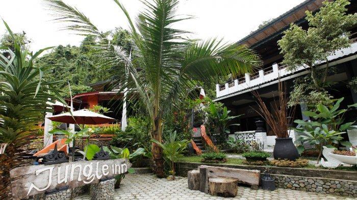 Jungle Iin, Penginapan Unik Di Bukit Lawang, Didominasi Dengan Ornamen Bali