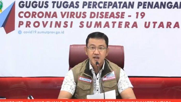TERBARU Data Sebaran Kasus Positif Covid-19 di Sumut, Kota Medan Penyumbang Terbanyak