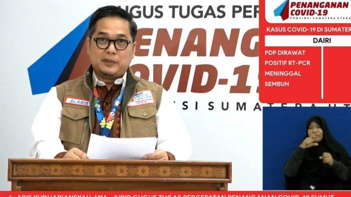 Setelah Eks Pjs Wali Kota Medan Positif Covid-19, Sekda dan Pejabat Eselon II Tes Swab, Ini Hasilnya