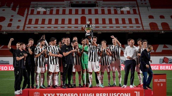 Hasil Lengkap Laga Pramusim Liga Italia, Penggawa Mourinho Ditahan, Juventus Raih Trofi Pertama